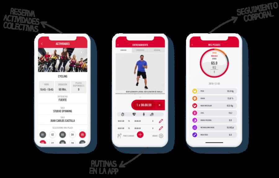 app trainingym
